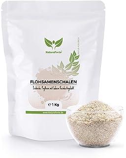Psyllium Husk de NaturaForte 1Kg - Cáscaras de Psyllium Triturado 100% Fibra Natural | Reduce