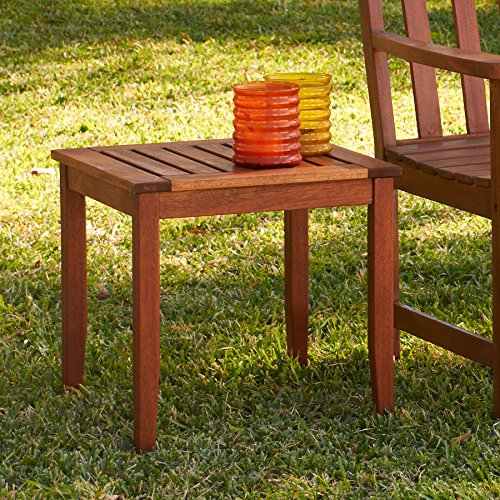 Patio Furniture Coffee Table Upton Home Julian End Table In Natural Hardwood Color Finish