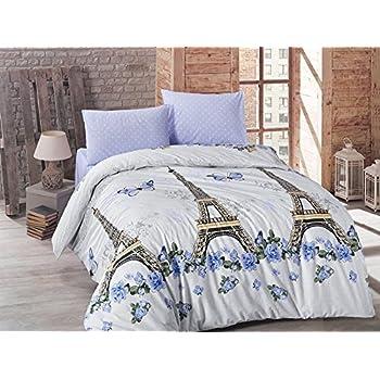 Brielle Duvet Cover Set 4 Pcs Full Double Size Queen Size Bedding Set 100%  Ranforce