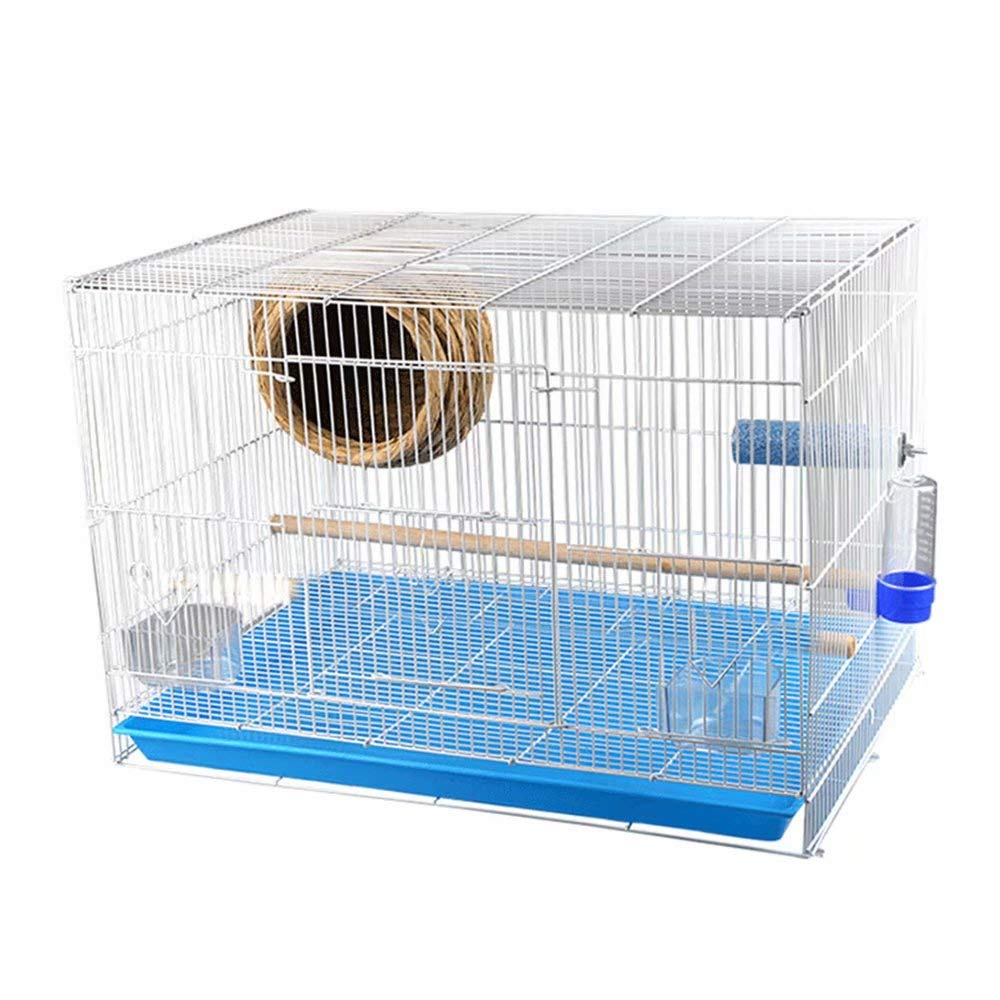 263928cm Metal Bird Cage for Small Parreds Finches Canary Hanging Medium Cage Quaker Cockatiels Sun Conure Neck Green Cheek Travel Bird Cage