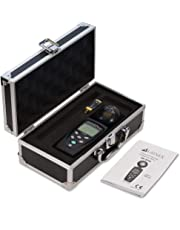 HF-B3G Triple Axis HF RF Meter Analyzer and Detector + Aluminium Case: 50MHz - 3.5GHz Measuring EMF Radiation from Cell Phones Smart Meters Cell Towers WiFi