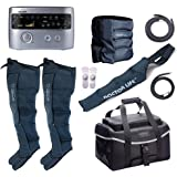 DSMAREF Recovery Compression System Full Package : Compression Pump, Recovery Boots, Arm Sleeve, Waist Sleeve, Carry Bag. (Bo