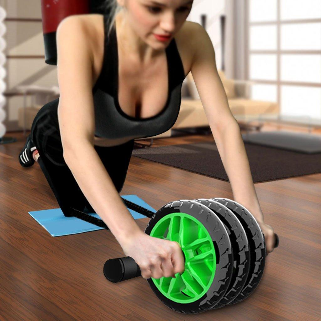 AB Roller Großartig für Krafttraining und andere Bauchmuskelübungen ist es EIN tolles Heim- oder Fitnessgerät AB Roller Bauchtrainer