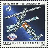 Austria 2040 (Complete.Issue.) 1991 Austro-Michel Rundschau (Stamps for Collectors) Space
