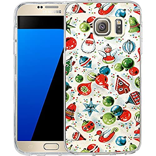 S7 Case Christmas Design Cartoon Christmas elk New, LAACO Scratch Resistant TPU Gel Rubber Soft Skin Silicone Sales
