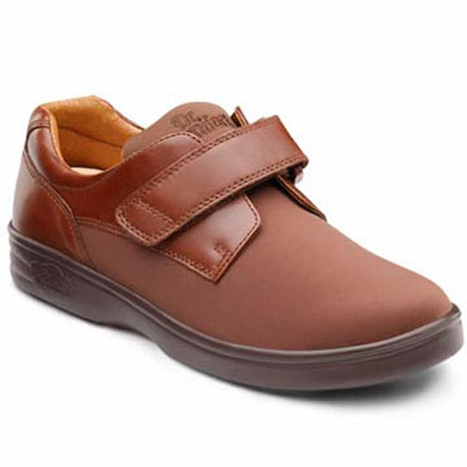 Dr. Comfort Annie Womens Casual Shoe B00IO7YVOW -6.5 Medium (A-B) Acorn Velcro US Woman|Acorn