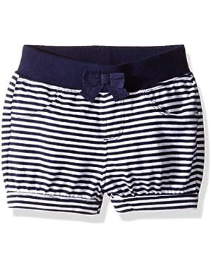Baby Girls' Striped Short