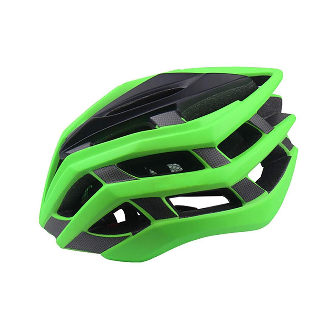 Dhrfyktu Ultraleichter Verstellbarer Fahrradhelm für Erwachsene, männliche und weibliche Mountainbike-Fahrradhelm, montierte Fahrräder