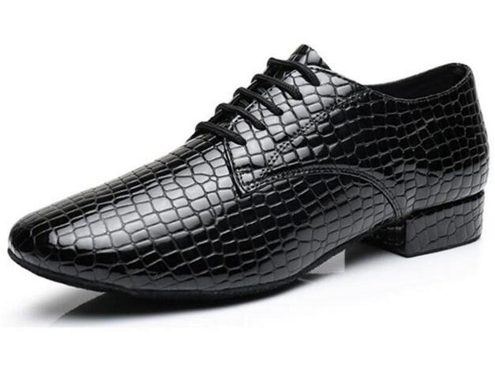 Zapatos de hombre lat iacute;n Danza piel moderna piel Danza genuina Split Soft Suela de gamuza Tama ntilde;o 38 a45 , EU44 4bf068