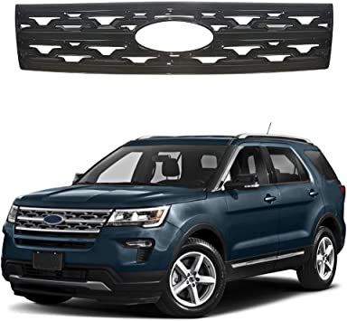S SIZVER Exclusive Glossy Black Series Stick-On Door Handle Overlays Compatible with 2011-2016 Ford Explorer+Edge