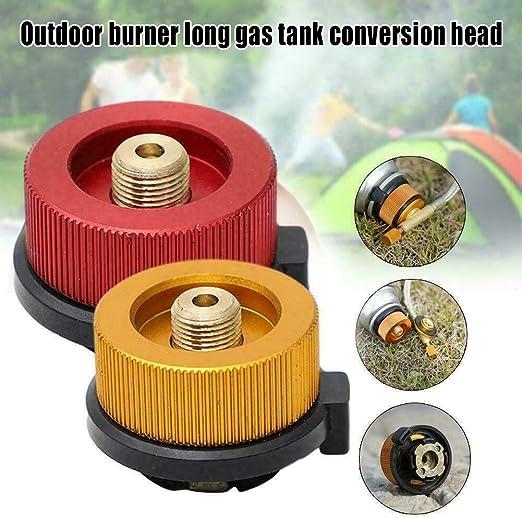 Eihan Adaptador de gas butano de metal para camping ...