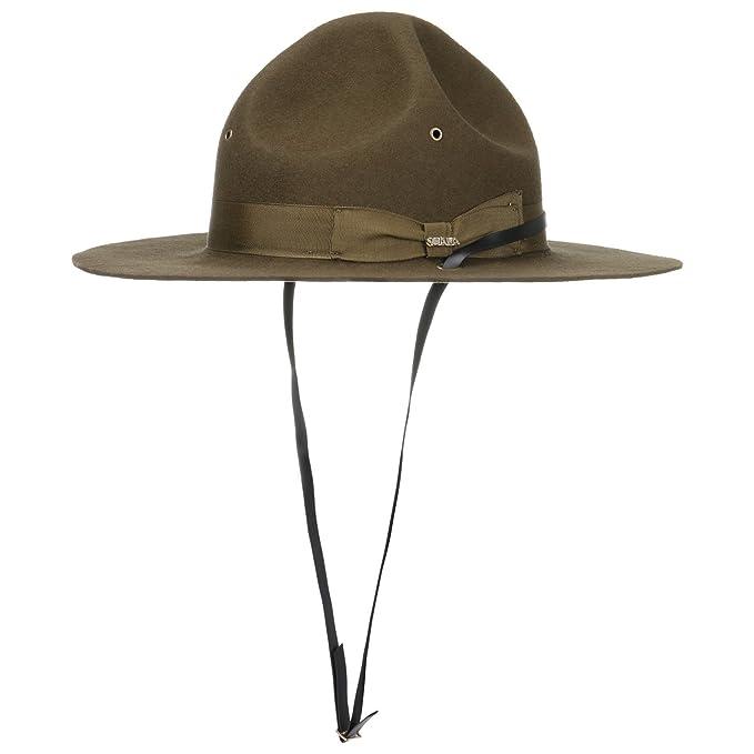 Sombrero Mountie con Cinta Barbilla Boy scoutsombrero de Fieltro (XL (59-60  cm 4f0a5423ee3