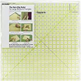 Omnigrip 20-1 2-Inch-by-20-1 2-Inch Non-Slip Diamond Free Quilter #39;s Ruler