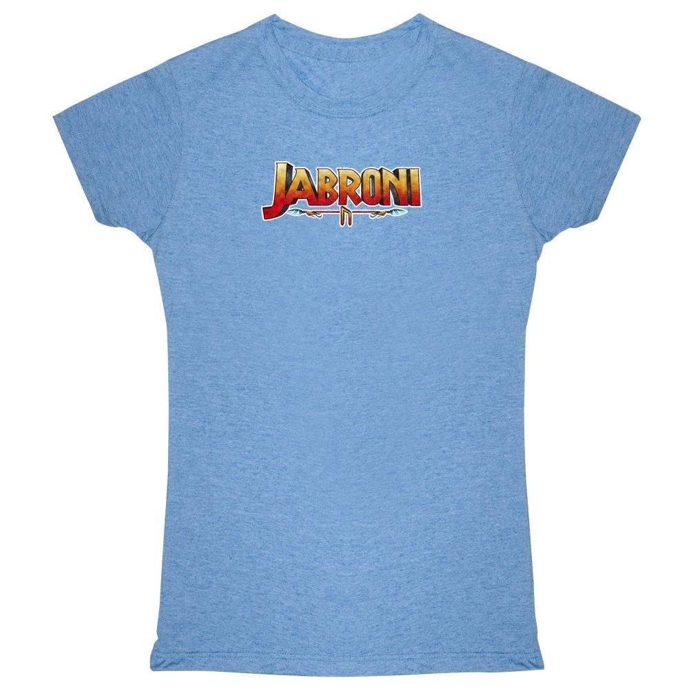 Pop Threads Jabroni Funny Heather Blue 2XL Womens Tee Shirt by Pop Threads