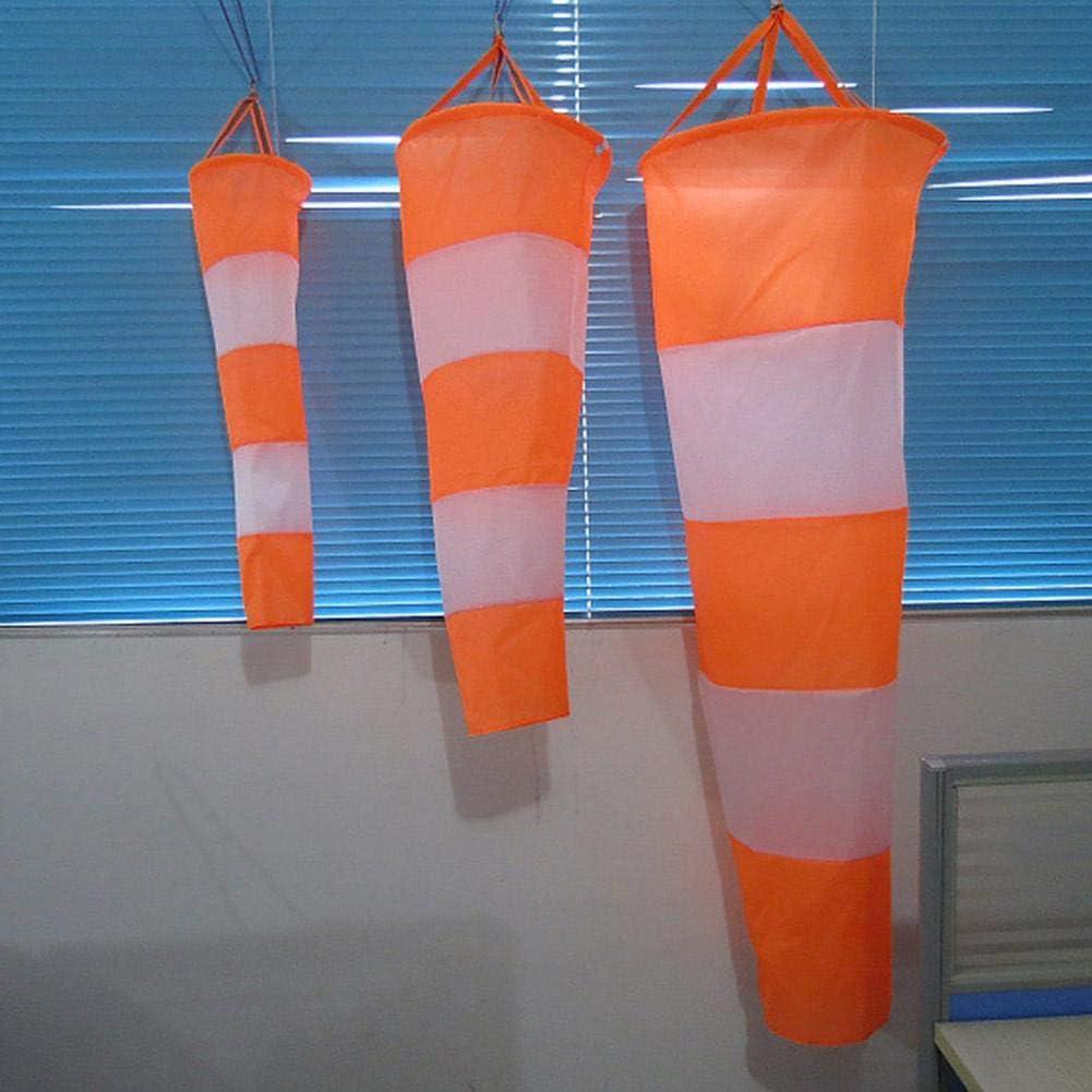 wei/ß und rot Fluoreszenz wasserdichte Windschutzh/ülle /Flughafen Windsack Rip-Stop Outdoor Regenbogen Windmessung Socke Tasche
