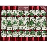 "8 X 10"" English Christmas Crackers By Robin Reed - Spode Tree Original"