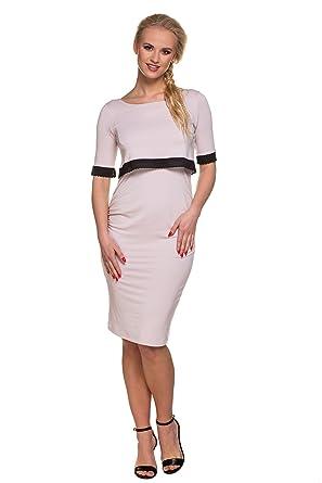 20f69fd62fa5 My Tummy Vestito premaman   allattamento Jackie S (Small) Abbigliamento  Premaman Abiti eleganti di