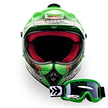 "Armor · AKC-49 Set ""Green"" (green) · Casco Moto-"