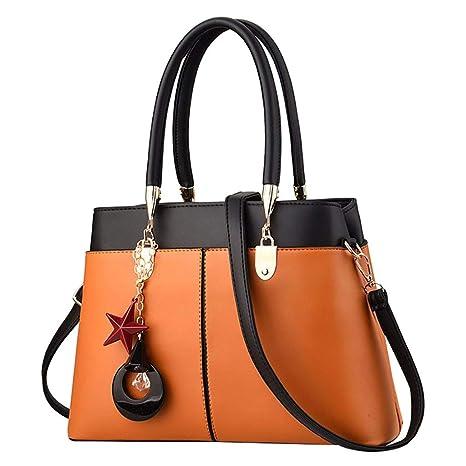 9ea5be7d9717 Amazon.com: NEARTIME Women Handbags Fashion Handbags for Ladies PU ...