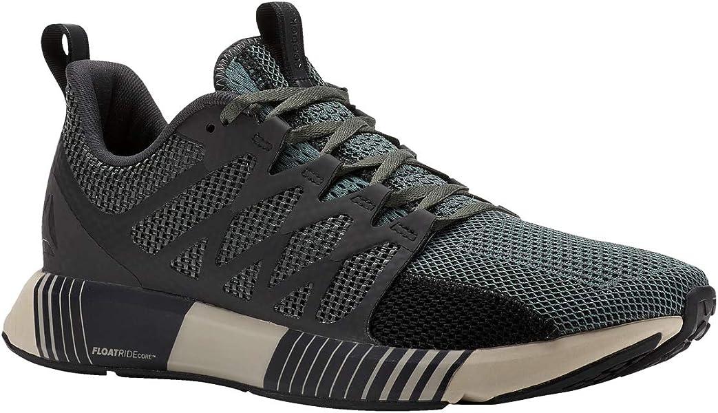 Reebok Fusion Flexweave Cage Shoe Men s Running 8 Chalk  Green-Coal-Parchment Chalk Green 6c3196cdd