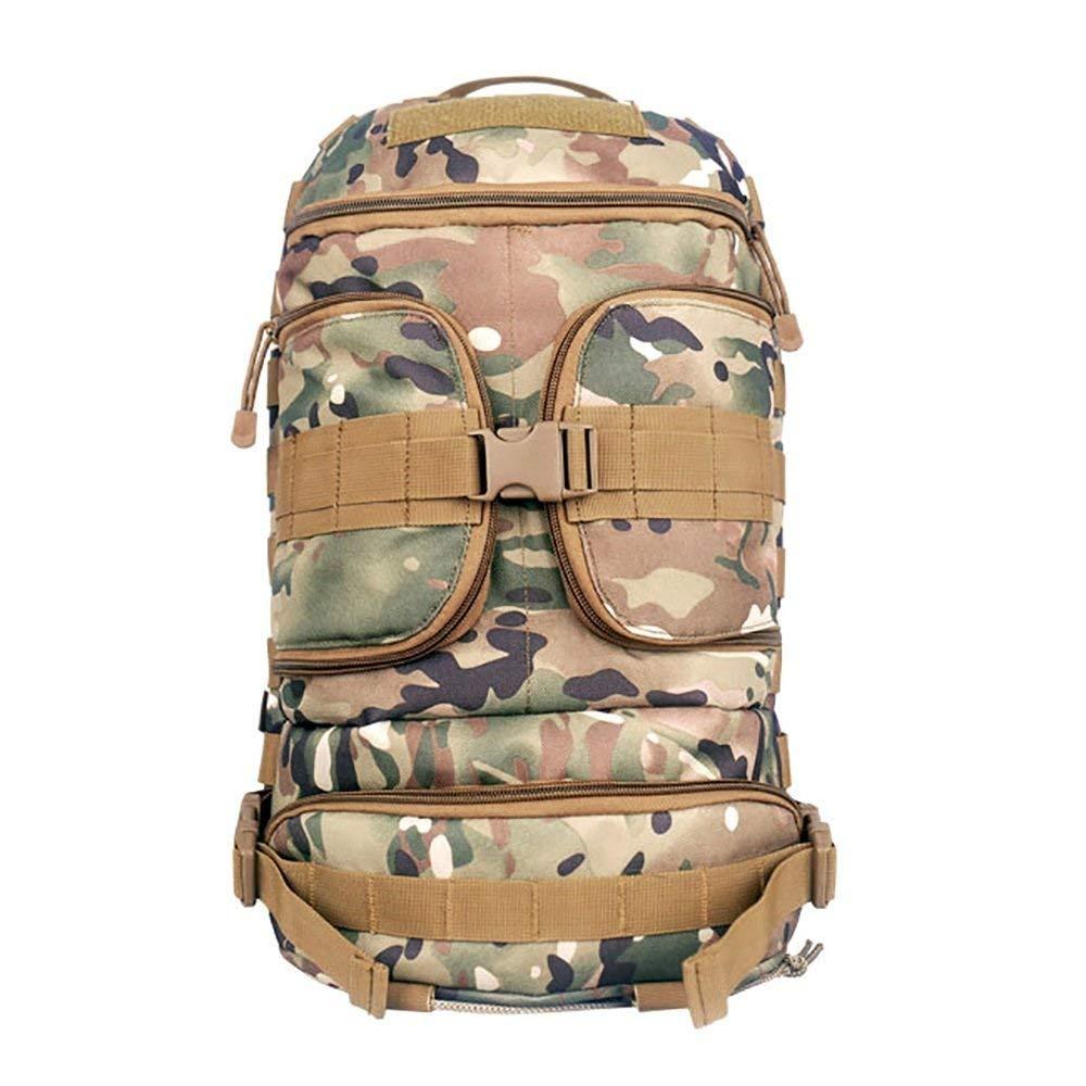 Laisla fashion ラップトップバックパックアウトドアパッケージバックパックトレーニング用ハイキングキャンプトレッキング狩猟旅行ショルダーバッグ戦術軍ファン登山バックパック大容量 One Size Camouflage B07QRQVG5V