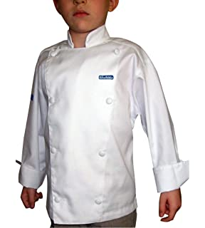 Top Amazon.com: Chefskin Kids Chef Jacket White Just Like the Real  VG36