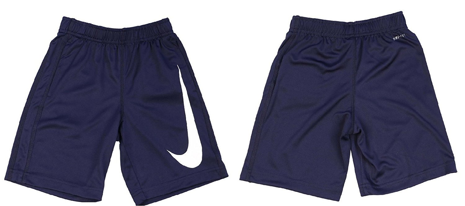 Nike Little Boys' Performance Swoosh Short 5 Navy by Nike