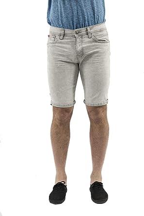 57c3ccfc002d9 Lee Cooper Shorts Bermudas 007175 nakez 3010 Gris: Amazon.fr ...