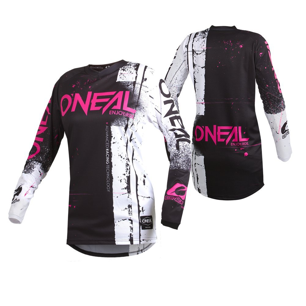 O'Neal Women's Element Shred Jersey Pink X-large