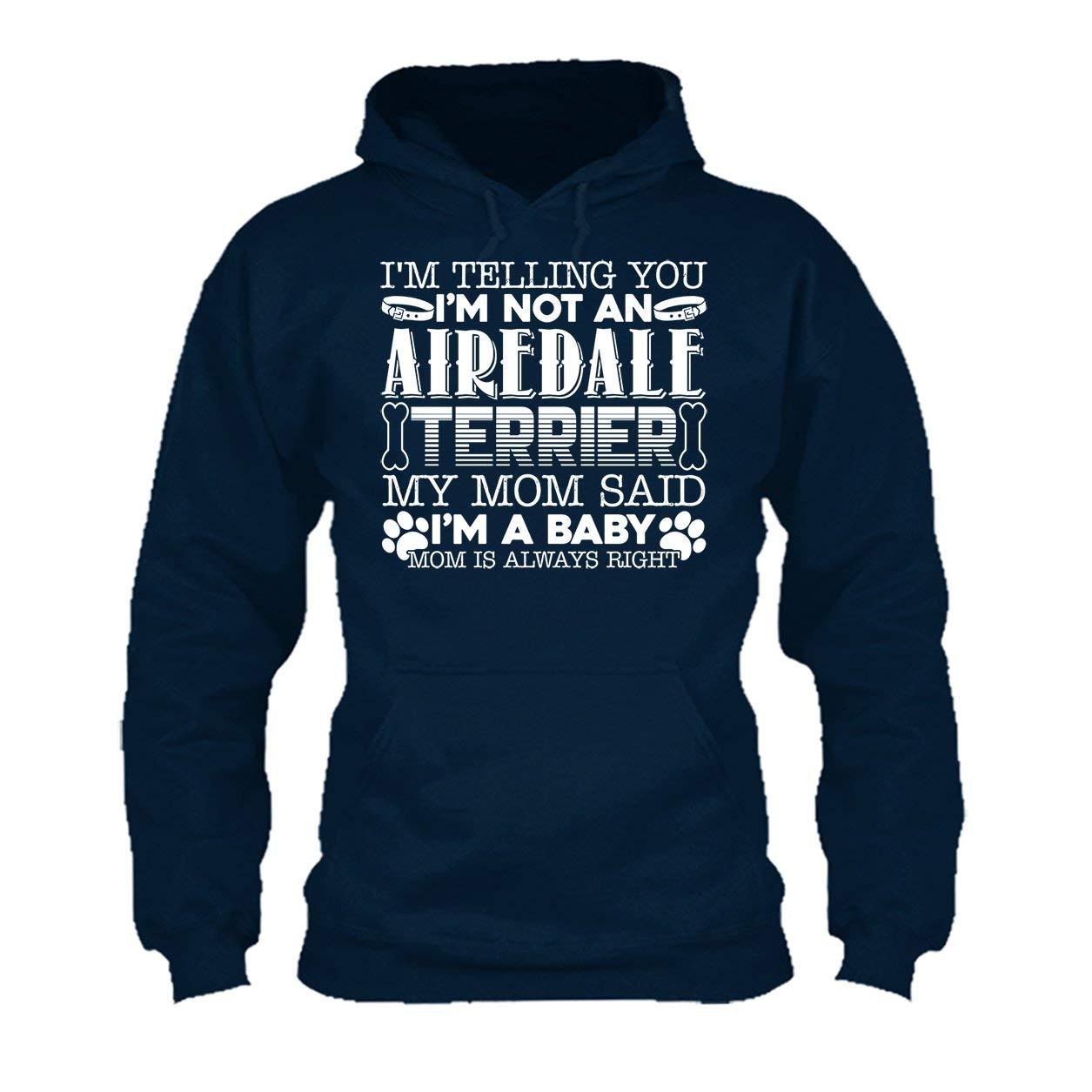 Hoodies Shirt Airedale Terrier Baby Tee Shirt