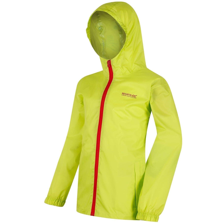 SS19 Regatta Pack-It III Waterproof Kids Jacket