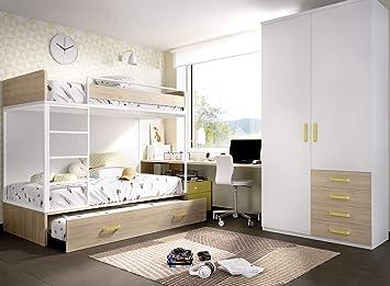 Ambiato Jump 309 Lit Mezzanine Pour Chambre D Enfant Avec