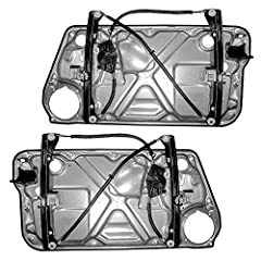 Driver and Passenger Front Power Window Lift Regulators              (NOTE) These are the Window Regulators ONLY. They DO NOT INCLUDE the Power Motors.       Features - Power  - with Window Regulators  - with Interior Door Pan...