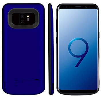 Funda Samsung Galaxy S9 Plus Bateria, LifeePro 6000mAh Recargable Externa Portátil Batería Cargador Pack Power Bank Ultra Fina Integrada Recargable de ...