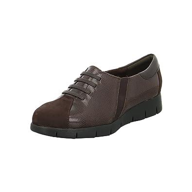 Clarks - Mocasines para Mujer Marrón Dark Brown Leather: Amazon.es: Zapatos y complementos