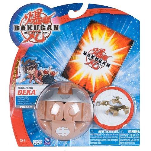 Bakugan DEKA New Vestroia VUCLAN Subterra Brown NEW IN PACKAGE Spin Master