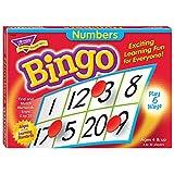 Numbers Bingo Game Flash Cards
