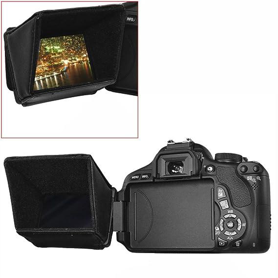 """3.5/"""" Schermo LCD Hood Protector per CANON Videocamera VIXIA HF G10 S20 S200 S21 S30"""