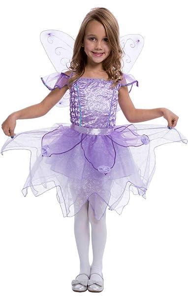 Costume Carnevale Fatina Viola dei Boschi Trilli Disney – bambina 4-6 anni a9a7f3d529c