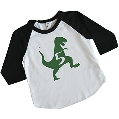 Dinosaur Birthday Shirt Boy 5th Outfit Dino
