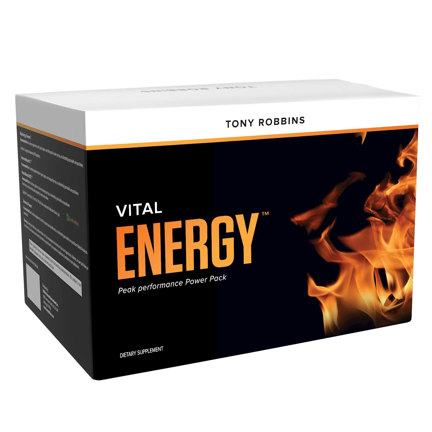 Tony Robbins Vital Energy – Unlimited Power – Peak Performance Power Pack 30 Day Supply
