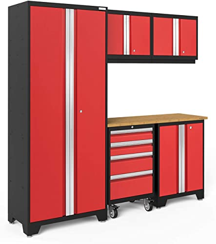NewAge Products Bold Series 3.0 6-Piece Set, Garage Cabinets