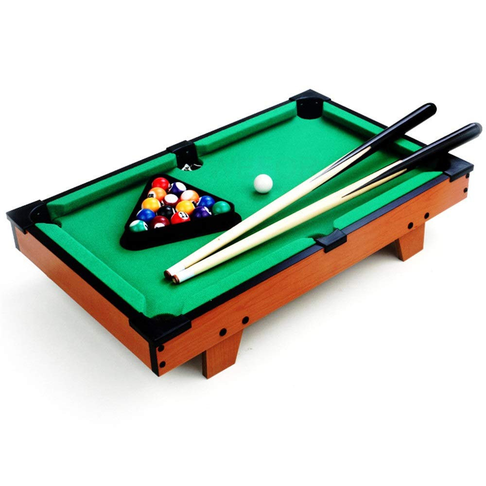 Ybriefbag-Sports Tabletop Billiards Tabletop Toy Pool Table Desktop Miniature Pool Table for Adults Kids Mini Pool-Billiard Table Tabletop Toy for Home Office (Color, Size : 69x37x22cm) by Ybriefbag-Sports