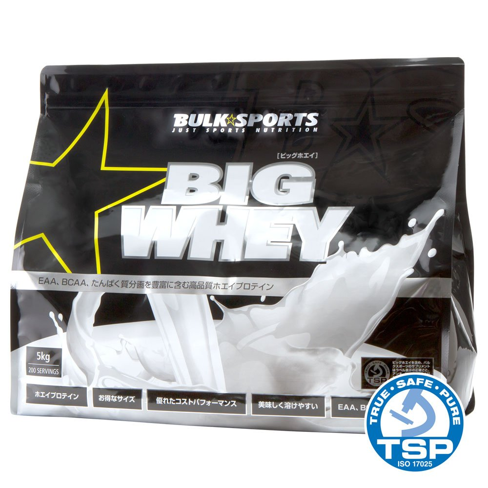 バルクスポーツ プロテイン ビッグホエイ 5kg ティラミス … B00WG41NYA ティラミス