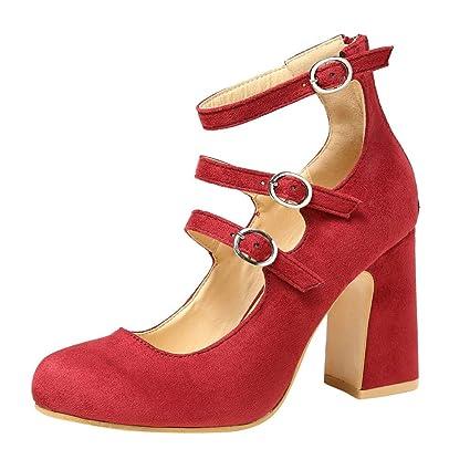 87f7d4833e Sandali con tacco alto, da donna, con cinturino alla caviglia, per ...