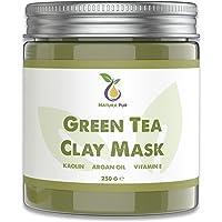 Groene Thee Gezichtsmasker 250g, veganistisch - natuurlijke cosmetica tegen puistjes, mee-eters en tegen acne - anti…