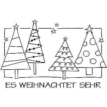 3 cm /ø Rayher 28864000 Stempel Frohe Weihnachten