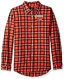 Cleveland Browns 2016 Wordmark Basic Flannel Shirt - Womens Large