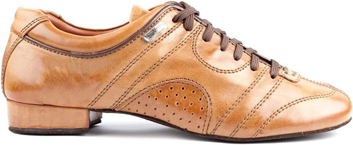 Leder Camel Rauledersohle PortDance Herren Tanzschuhe//Dance Sneakers PD Casual