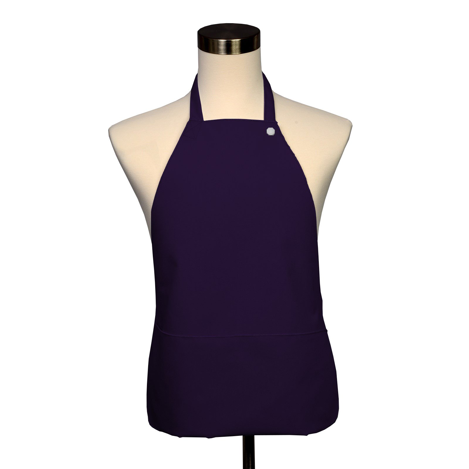Adult Bib 10 Pack - Covered with Care Assorted Colors Available! (Purple)